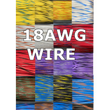 18 AWG Pinball Inc Wire  Choose your color (1ft.)