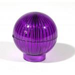Globe - Violet/Purple - Plastic Lamp Dome