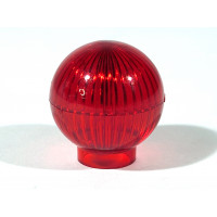Globe - Red - Plastic Lamp Dome