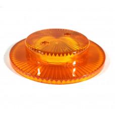 Pop Bumper Cap with Collar - Orange