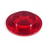 Pop Bumper Cap with Collar - Red
