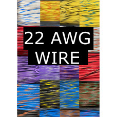22 AWG Pinball Inc Wire Choose your color (1ft.)