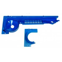 NEW ITEM!!     BLUE Taxi Spinout Ramp with Ball Retainer.