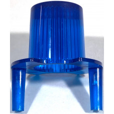 Jets Bumper Dome w/ Pegs Trans Blue