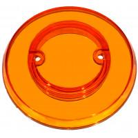 Orange Transparent Pop Bumper Cap