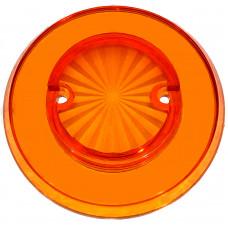 Orange Starburst Transparent Pop Bumper Cap
