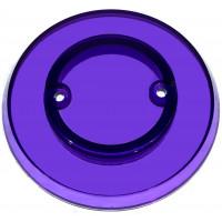 Violet Transparent Pop Bumper Cap