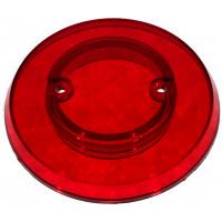 Red Transparent Pop Bumper Cap