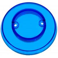 Blue Transparent Pop Bumper Cap