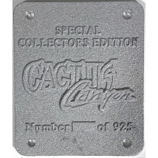 Cactus Canyon OEM Special Collectors Edition Plate (Unpainted)