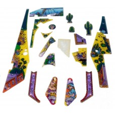 Cactus Canyon Playfield Plastic Set