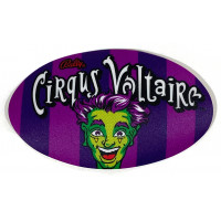 Cirqus Voltaire Oval Decal