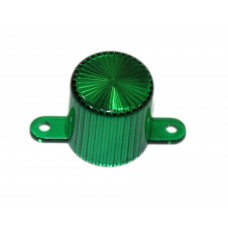 Dome With Screw Tabs - Green
