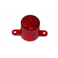 Dome With Screw Tabs - Red