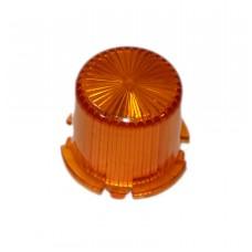 Dome With Twist Lock - Orange
