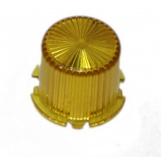 Dome With Twist Lock - Yellow