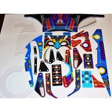 Jackbot Playfield Plastic Set (Williams)
