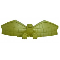 Judge Dredd Eagle Topper-Mustard Green