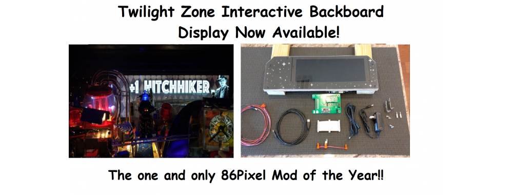 Pinvision TZ Backboard Interactive Display