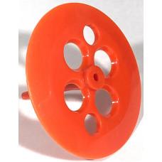 Pop Bumper Skirt Wafer - Orange