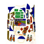 Road Show Playfield Plastic Set