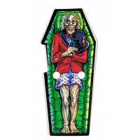 Scared Stiff Coffin Decal