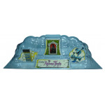 Addams Family Smoked Backbox Cloud Topper Dome with Decals