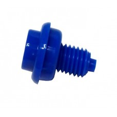 Flipper Button Assembly-Blue 1 1/8""