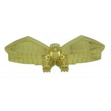 Judge Dredd Eagle Topper-Gold plated finish