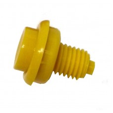 Flipper Button Assembly-Yellow 1 1/8""